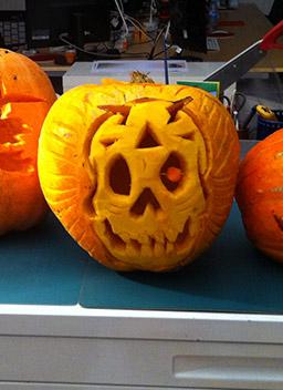 Monstrueuse ambiance et joyeux halloween