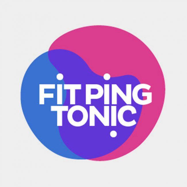 Fit Ping Tonic • Création d'un logo pour la fédération de tennis de table